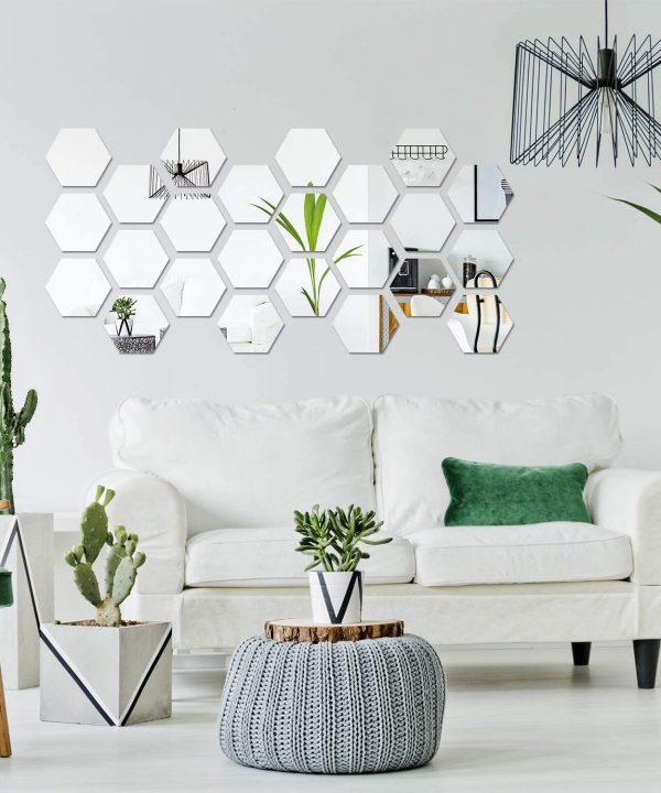 hexagon silver