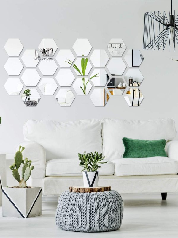 hexagon silver